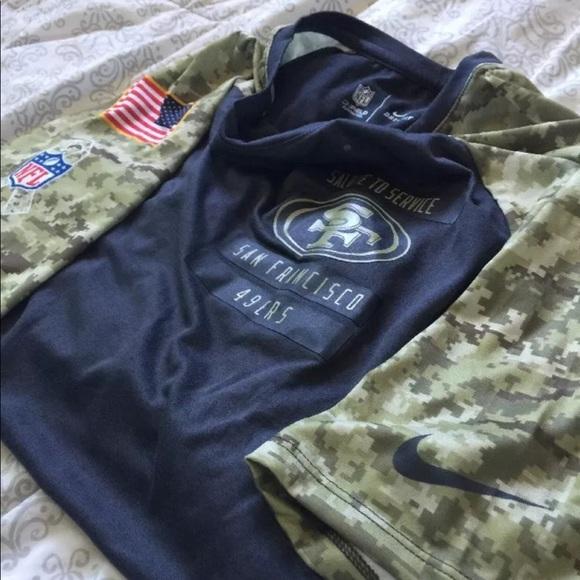 7af974c721b New San Francisco 49ers salute to service shirt. NWT. Nike